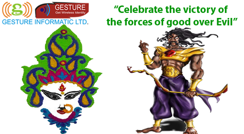 Celebrate the victory of the forces of good over Evil
