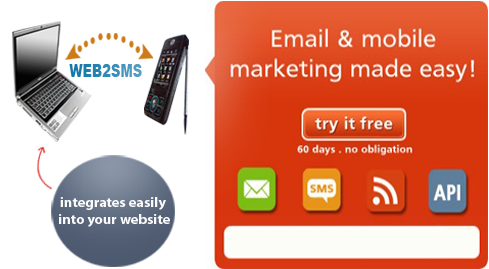 SMS email marketing